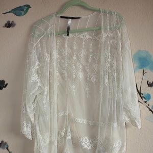 Kensie Lace cover up